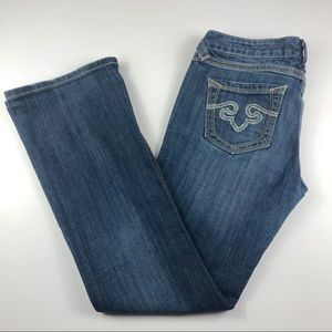 Re Rock For Express Barely Boot Jeans Womens 8S